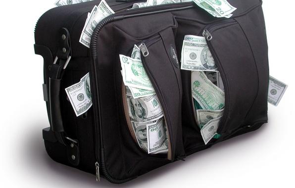 Картинка деньги, доллары, сумки