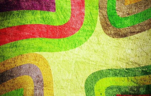 Картинка абстракция, фон, узоры, краски, Цветной, линий