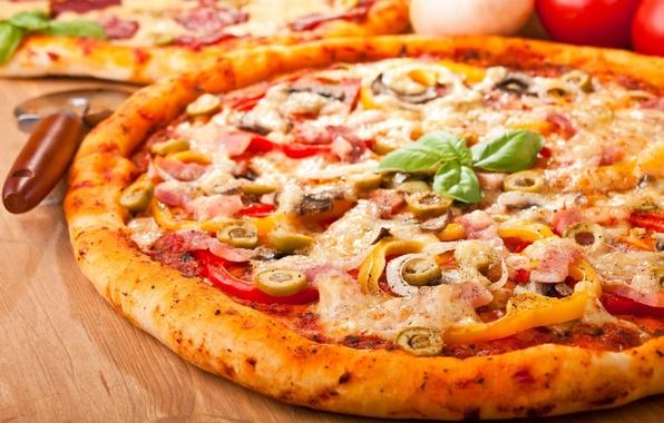 Картинка еда, вкуснятина, пицца, wallpapers, pizza