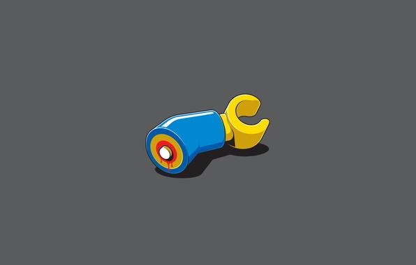 Картинка фильм, рука, минимализм, кость, пила, lego, лего, оторвана