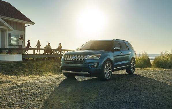 Картинка Ford, форд, эксплорер, Explorer, 2015, U502, Platinum