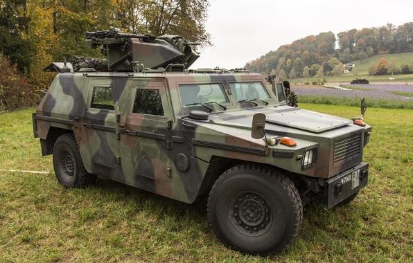 Картинка бронеавтомобиль, швейцарский, полноприводный, вседорожник, Mowag Eagle III