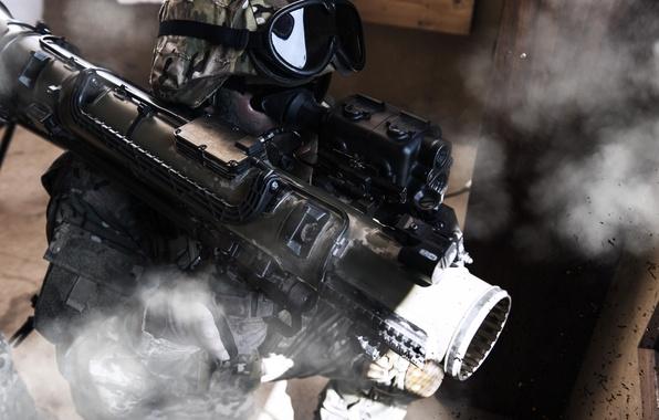 Картинка Saab, battlefield, gun, pistol, soldiers, weapon, war, fog, man, army, rifle, warriors, helmet, uniform, combat, …