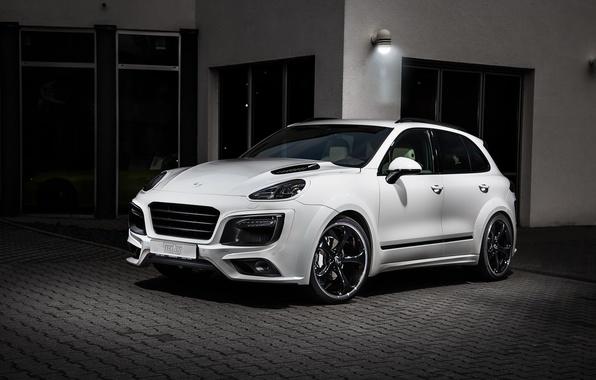 Картинка Porsche, порше, Cayenne, кайен, Magnum, TechArt
