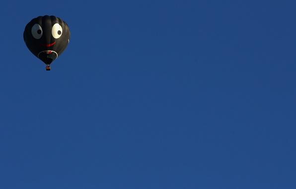 Картинка небо, спорт, шар, минимализм