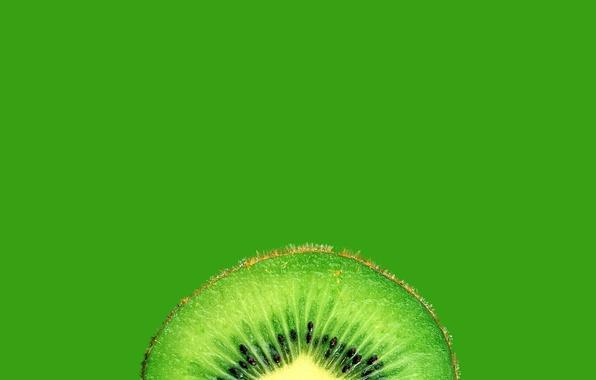 Картинка киви, фрукт, в разрезе