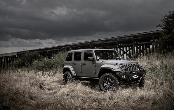 Картинка джип, jeep, wrangler, вранглер, unlimited, NightHawk