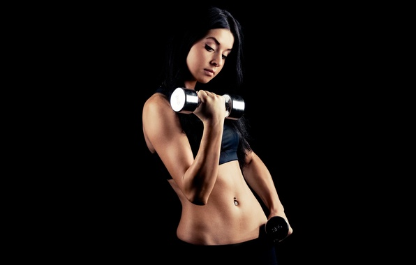 Картинка metal, workout, fitness, gym, dumbell