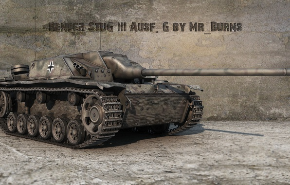 Картинка Германия, танк, танки, Germany, WoT, Мир танков, tank, World of Tanks, tanks, Wargaming.Net, BigWorld, StuG …