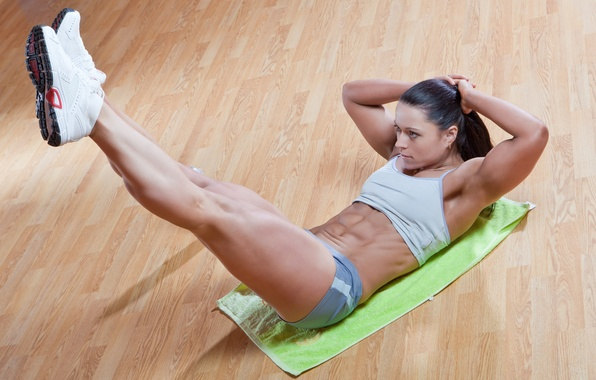 Картинка sexy, legs, muscle, workout, fitness, exercises for abdomen