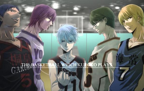 Картинка спорт, очки, команда, сережка, Kise Ryouta, Kuroko Tetsuya, баскетбол куроко, Kuroko no Basket, Aomine Daiki, …