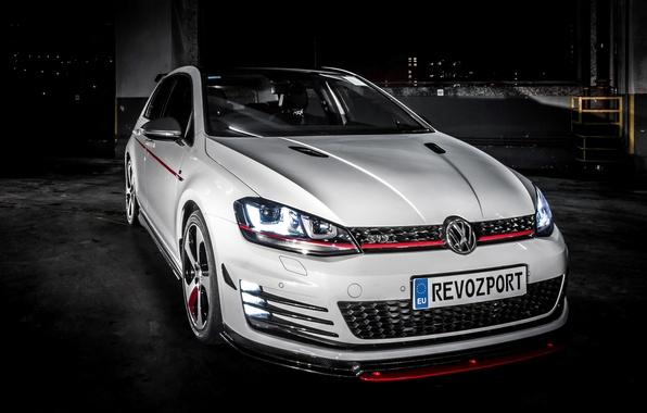 Картинка Volkswagen, гольф, Golf, GTI, фольксваген, 2013, Typ 5G, RevoZport, Razor 7
