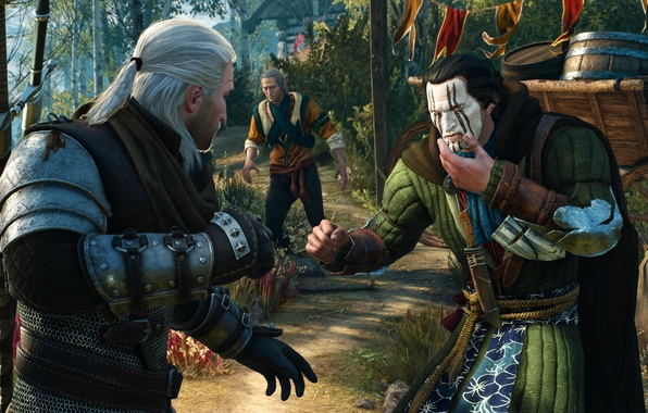Картинка The Witcher, Medieval, The Witcher 3, Wild Hunt, Geralt