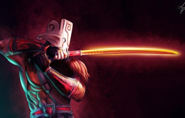 Фото обои Blade Dance, Valve, Juggernaut, Art, Healing Ward, Blade Fury, Omnislash, Dota 2