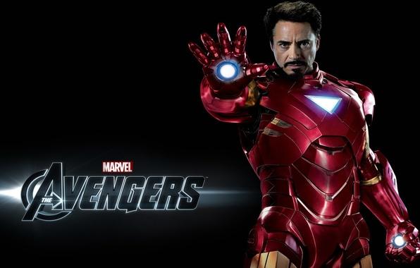 Фото обои man, action, iron, stark, movie, Avanger