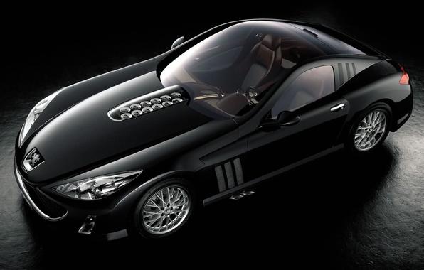 Картинка авто, спорт, Черный