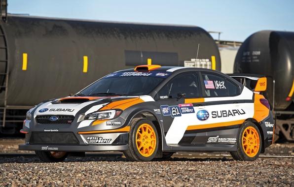 Картинка Subaru, WRX, STI, субару, Rallycross, 2015