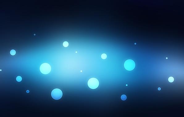 Картинка круги, абстракция, фон, абстракции, Пузыри, Текстура, синий фон, wallpapers
