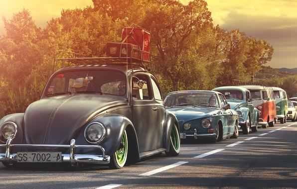 Картинка volkswagen, golf, фольксваген, beetle, bus