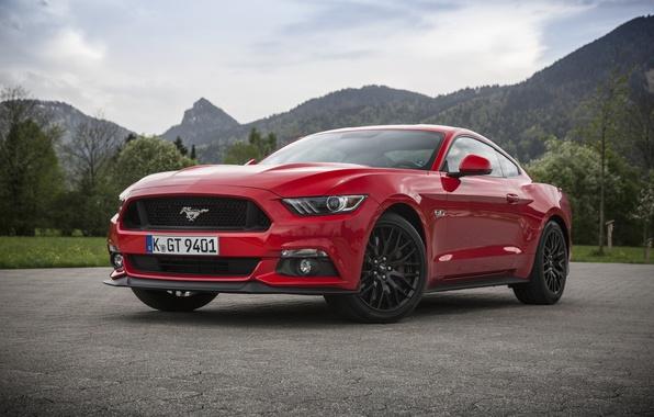 Картинка Mustang, Ford, мустанг, форд, Fastback, 2015, EU-spec