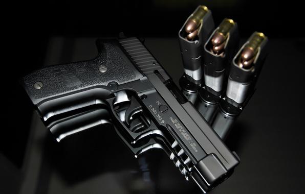 Картинка пистолет, оружие, SIG-Sauer, P226