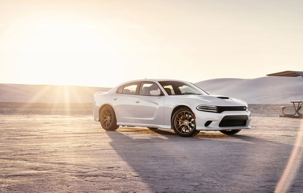 Картинка Dodge, Charger, Hellcat, SRT, 2015