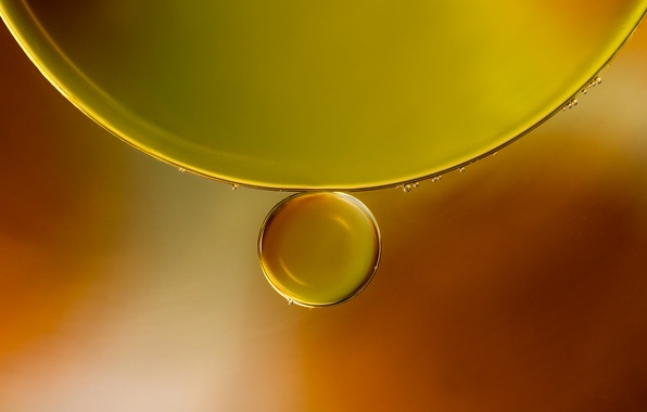 Картинка вода, пузырьки, цвет, масло, жидкость, воздух, объем