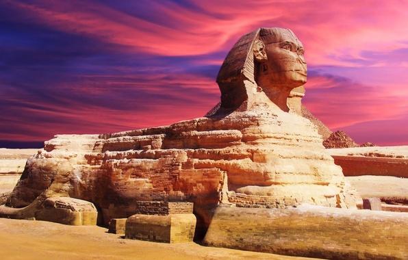Обои картинки фото египет сфинкс