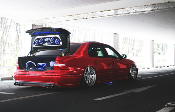 Картинка багажник, lexus, лексус, back, trunk, audio, celsior, сельсиор