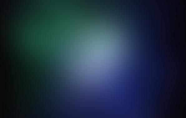 Картинка синий, зеленый, черный, размытие, текстуры