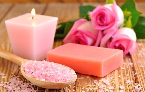 Свечи и мыло