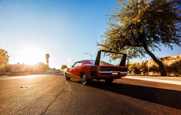Картинка 1969, Dodge, додж, Charger, чарджер, Hemi, Daytona