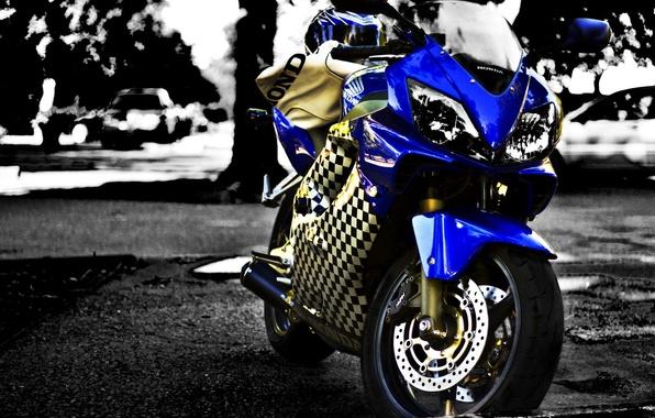 Картинка мотоцикл, Honda, moto, хонда, motorcycle, superbike, Cbr F4i