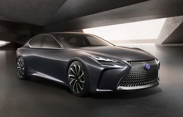 Картинка Concept, Lexus, концепт, седан, лексус, LF FC