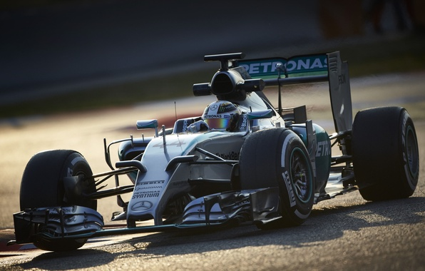 Картинка формула 1, Mercedes, болид, мерседес, AMG, Hybrid, амг, 2015, W06