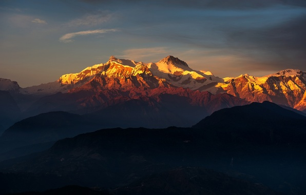 Картинка пейзаж, горы, природа, Тибет