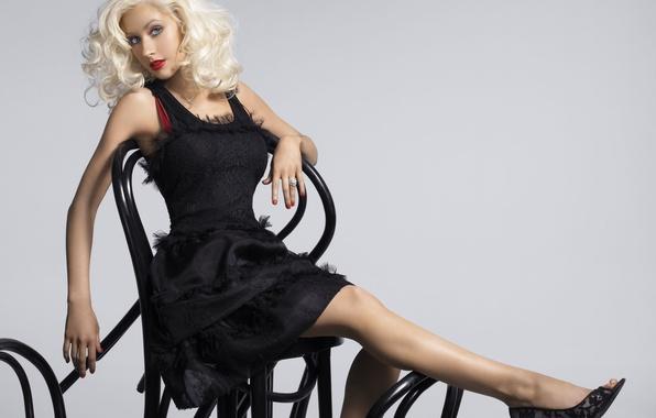 Картинка блондинка, певица, Christina Aguilera, знаменитость, Кристина Агилера