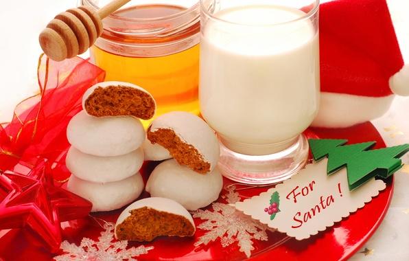 Картинка цвета, звезды, снежинки, красный, праздник, милая, красота, colors, молоко, мед, Санта, фотографии, red, красивая, honey, …