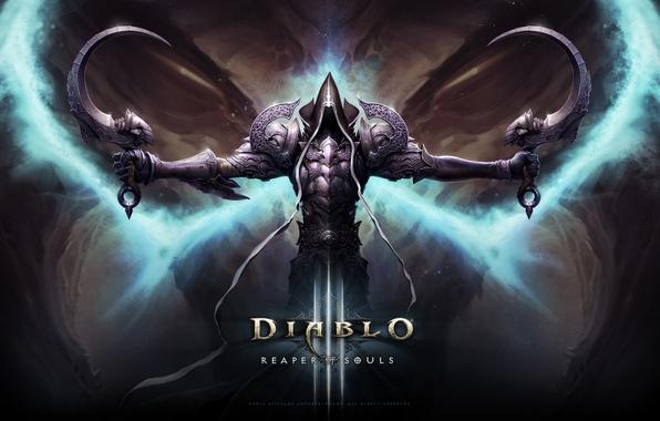 Картинка Смерть, Blizzard, Diablo III, Game, Диабло, Reaper, Reaper of Souls, Diablo III: Reaper of Souls, …