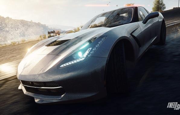 Картинка Corvette, Chevrolet, Need for Speed, nfs, Stingray, 2013, Rivals, NFSR, нфс