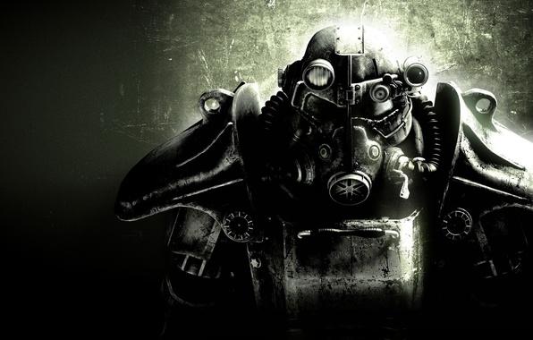 Обои картинки фото fallout 3, броня