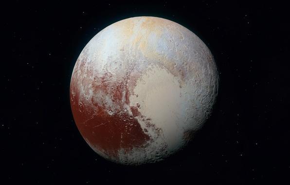 Обои photo, plyto, Плутон, new horizons, Nasa картинки на ...