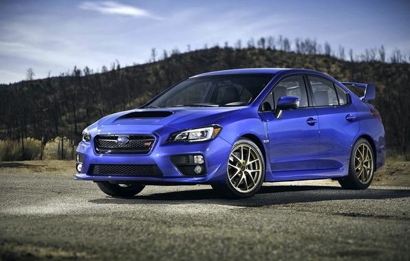 Картинка Subaru, Impreza, Машина, WRX, STI, Субару, СТИ, 2015