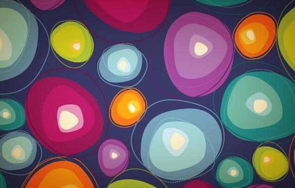 Картинка узор, краски, вектор, текстура, пятно