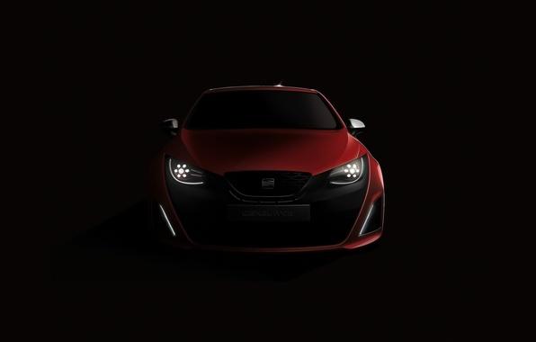 Картинка машина, авто, красный, cars, сеат, Seat Bocanegra, auto wallpspers
