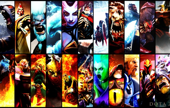 Картинка heroes, dota 2, gallery, crimson