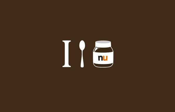 i Spoon Nutella Wallpaper я i Spoon Nutella