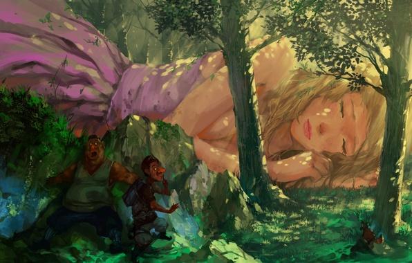 Во сне блондинку на столе фото 706-821