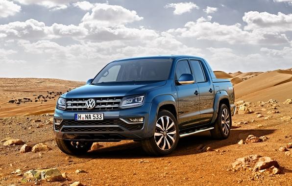 Фото обои Volkswagen, пикап, фольксваген, Amarok, амарок