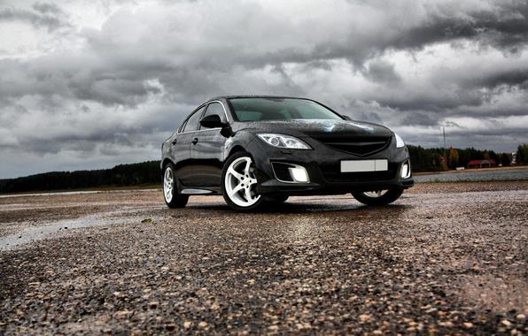 Картинка облака, Бэтмен, Mazda 6